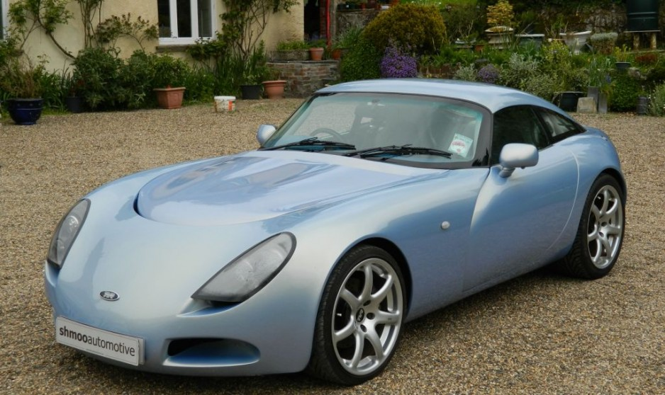 2003 Tvr T350c Crystal Topaz Shmoo Automotive Shmoo Automotive
