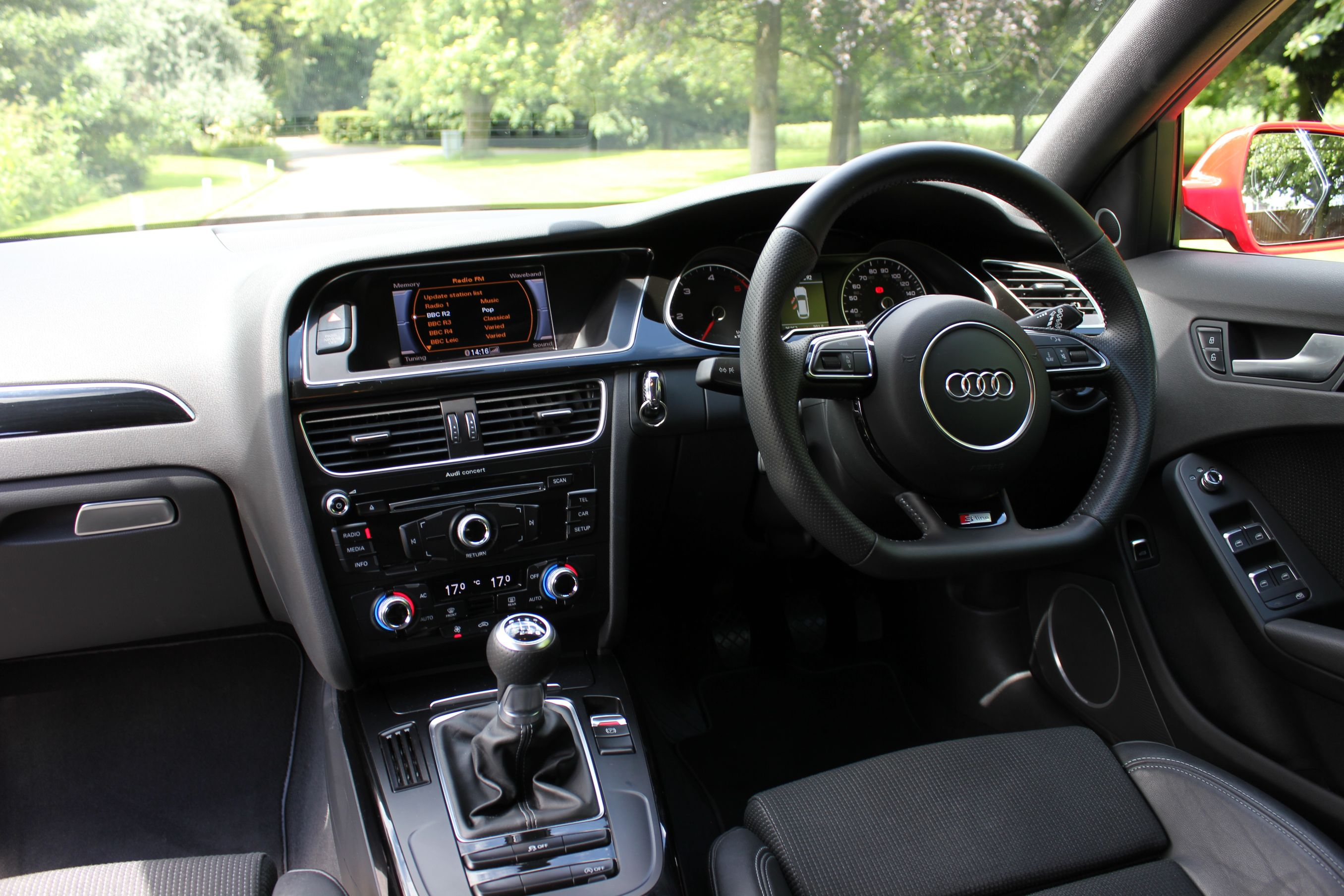 black audi a4 interior. audi a4 avant 20tdi sline black edition quattro shmoo automotive interior