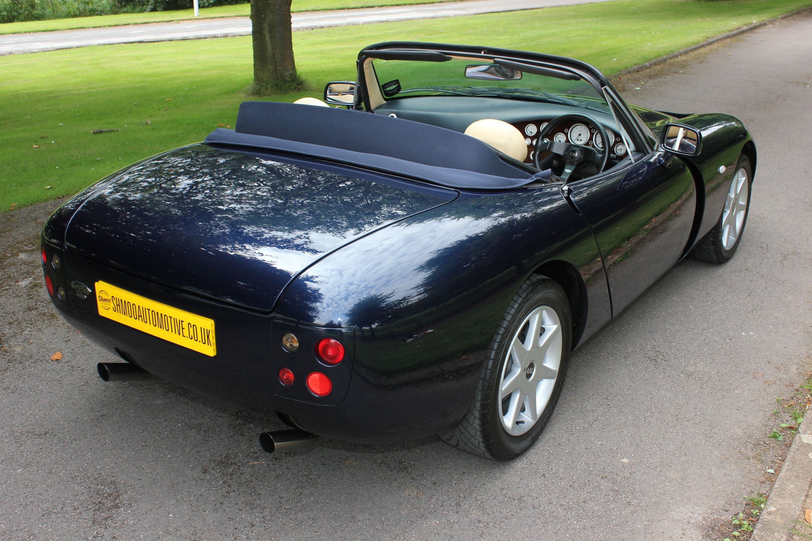 tvr griffith 500 se car no 4 just in video below shmoo automotive. Black Bedroom Furniture Sets. Home Design Ideas