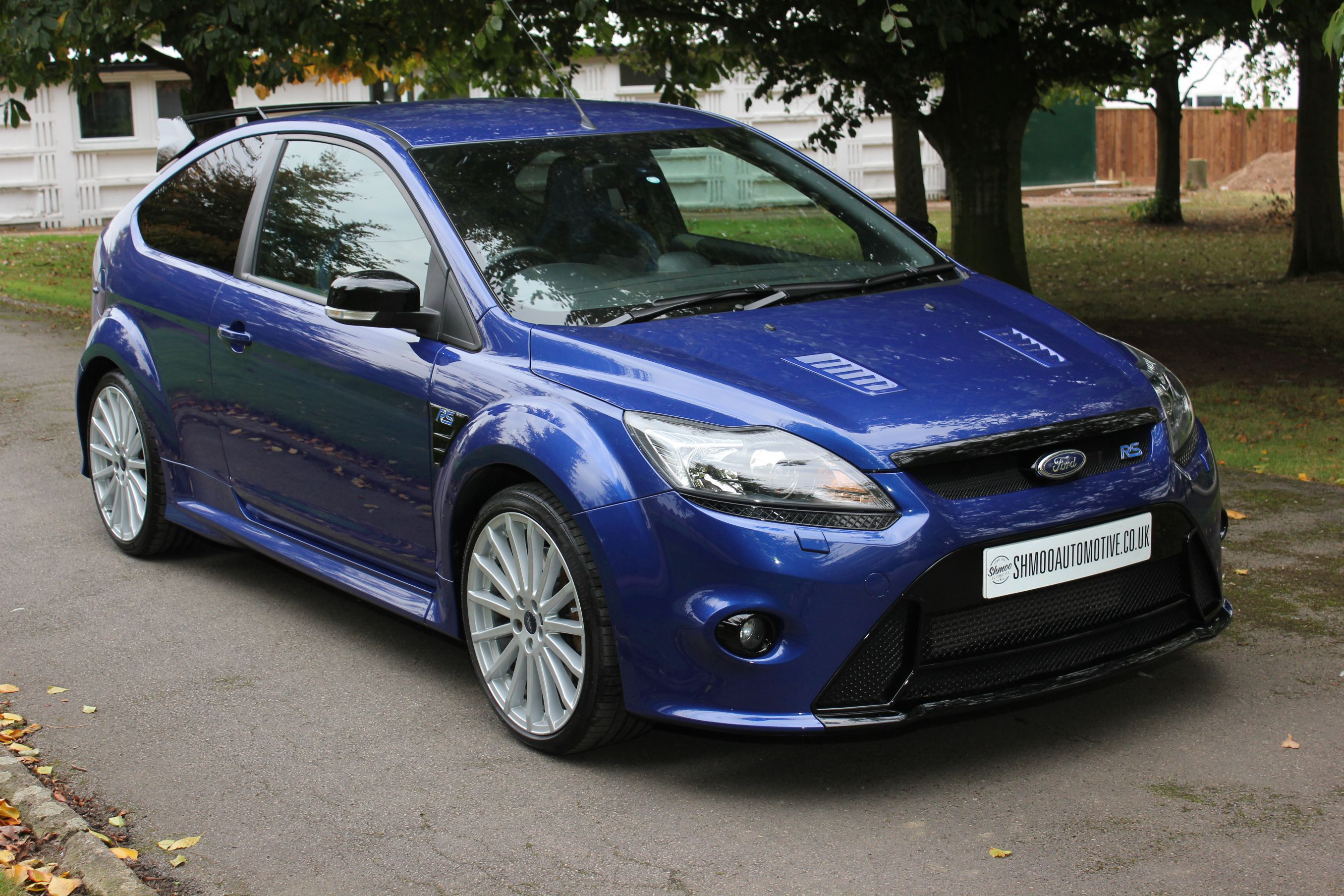 Ford Focus RS MK2 - Stunning 1 owner car with 15,000 miles FFSH. - Shmoo Automotive Shmoo Automotive