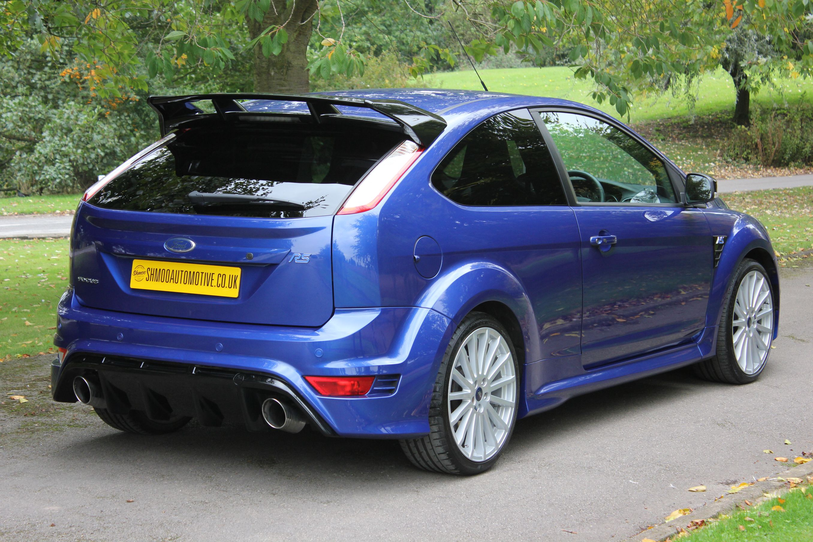 ford focus rs mk2 stunning 1 owner car with 15 000 miles ffsh shmoo automotive shmoo automotive. Black Bedroom Furniture Sets. Home Design Ideas