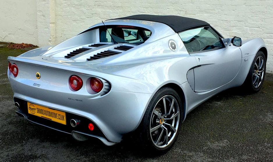 Lotus Elise 111S 5500 miles - www.shmooautomotive.co.uk